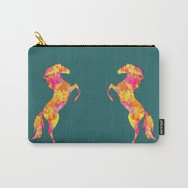 Fire Horse Silhouette Carry-All Pouch