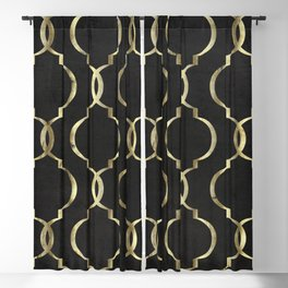 Avenue des Champs Elysees Blackout Curtain