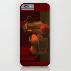 Still life with peaches iPhone 6s Slim Case