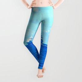 Blue Sea Leggings