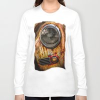 porsche Long Sleeve T-shirts featuring Rusty old Porsche by Eduard Leasa Photography