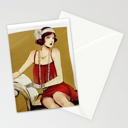 Flapper Girl #2 Stationery Cards