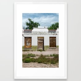 Desert Story: 1 of 6 Framed Art Print