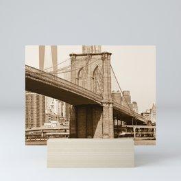 Brooklyn Bridge Mini Art Print