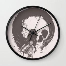 Apprehension Wall Clock