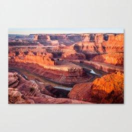 Dead Horse Point Sunrise Canvas Print