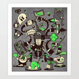 Capers, Schemes, Plans, and Scams Art Print