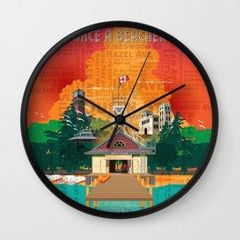Once A Beacher Wall Clock