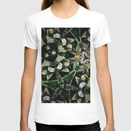 Succulents on Show No 1 T-shirt