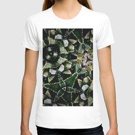 Succulents on Show No 1 T-shirt