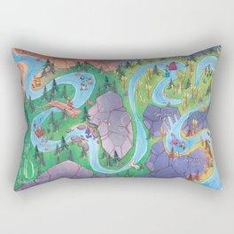 Land of AND Map Rectangular Pillow