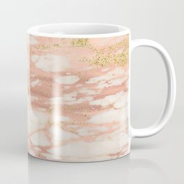Sorano rose gold marble Coffee Mug