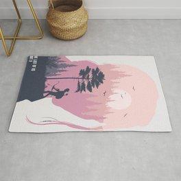 Ellie minimalist print Rug