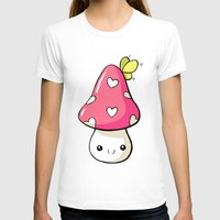 mushroom T-shirts featuring Mushroom by Freeminds