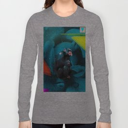 Space Chimp Long Sleeve T-shirt