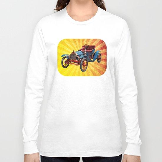 Vintage Car 01 Long Sleeve T-shirt