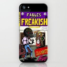 Fables of the Freakish iPhone Case