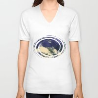 vertigo V-neck T-shirts featuring Vertigo by Irina Wardas
