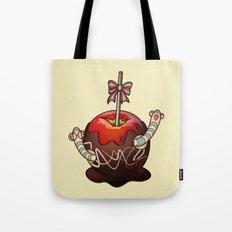 SWEET WORMS 2 - caramel apple Tote Bag