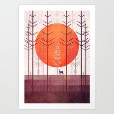Silent Forest Art Print