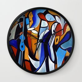 Jazzz for Ed Wall Clock
