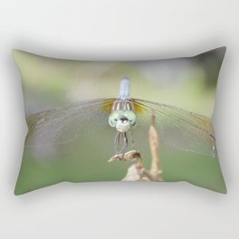 Dragon fly close up Rectangular Pillow