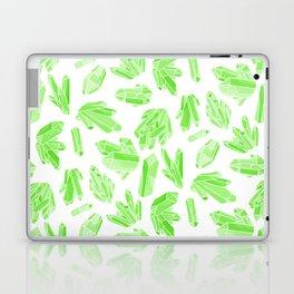 Crystals - Emerald Laptop & iPad Skin