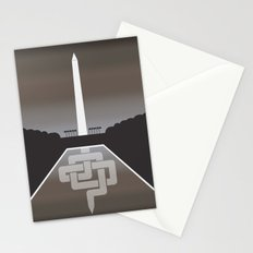 Live in Washington DC Stationery Cards