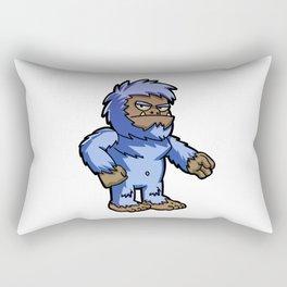 Angry yeti Rectangular Pillow