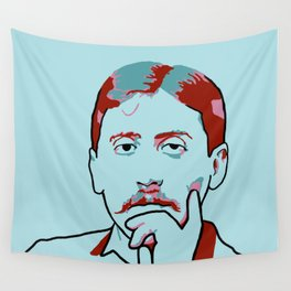 Marcel Proust Wall Tapestry