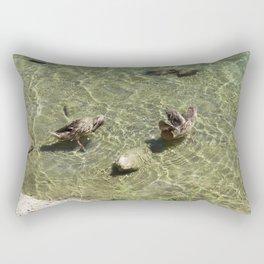 Duck Lake Rectangular Pillow