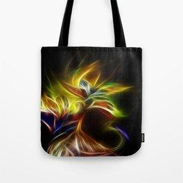 Night Bloom Digital Tote Bag