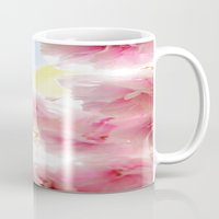cherry blossom Mugs featuring Cherry Blossom by 2sweet4words Designs