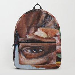 Jules Eat A Big Kahun Burger - Pulp Fiction Painting Backpack