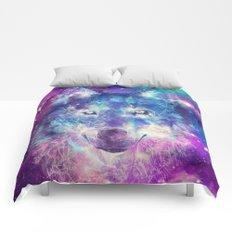 wolf 1 Comforters