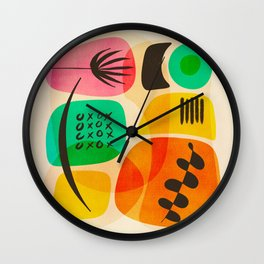 Knolling Formations Wall Clock