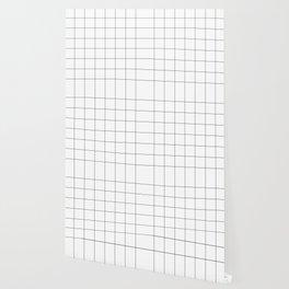 White Grid  /// www.pencilmeinstationery.com Wallpaper