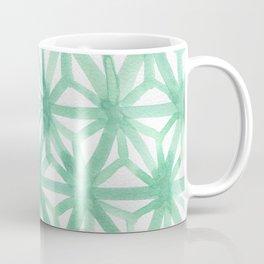 Mint Asanoha Coffee Mug