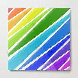 Raining Rainbows Metal Print