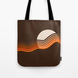 Sundown Stripes Tote Bag