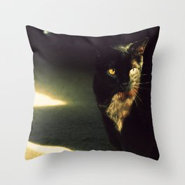 She's Bad Luck Throw Pillow