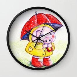 Piggy Wall Clock