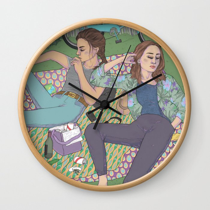 park days Wall Clock