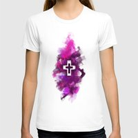 cross T-shirts featuring cross by melazerg
