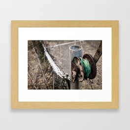 Old Rusty Framed Art Print