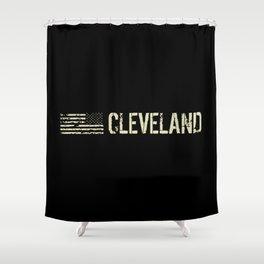 Black Flag: Cleveland Shower Curtain