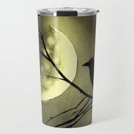 Crow Moon Travel Mug