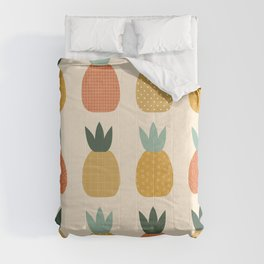 Pineapple Queens Comforters