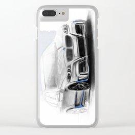 Bavarian car M5 F10 Artrace body-kit Clear iPhone Case
