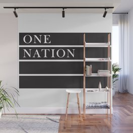 One Nation Wall Mural